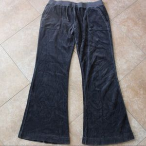 LIKE NEW JUICY COUTURE VELOUR PANT SWEAT